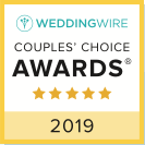 Wedding Wire 2019 Couples Choice Award Winner