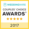 Wedding Wire 2017 Couples Choice Award Winner